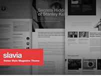 Slavia - Swiss Style Magazine Theme
