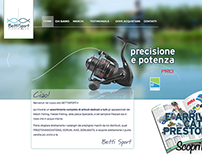 Fishing distributor's website