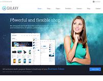 The Galaxy - Responsive Multipurpose Template