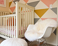GIRL NURSERY MAKEOVER - SAN DIEGO