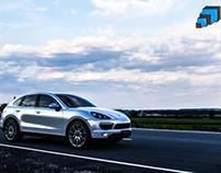Porsche Cayenne Render Tests