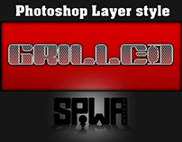 Grilled Photoshop Layer Style