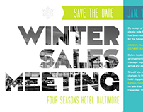 Winter Meeting Materials