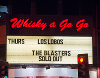 Los Lobos 40th Anniversary live at the Whisky a Go Go