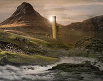 """Legendary"" Matte Painting"