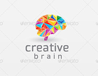 Creative Brain - Logo Template $29