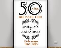 50 años, Bodas de oro