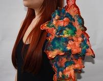 Shibori Textiles Piece