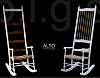 ALTO grand rocking chair