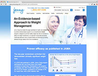 agency: static webpages for POSSIBLE & Jenny Craig