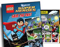 Lego Illustrations by Kenny Kiernan