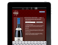 iPad wine menu, Acubo