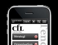 Concept design - mobile UI