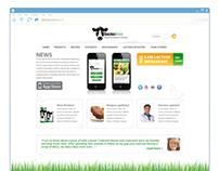 Lactofree web site