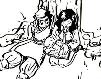 Roy and Sari: Character Designs