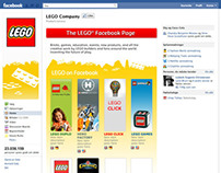 concepts for LEGO facebook page