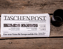 Design & Layout for a Newspaper called Taschenpost