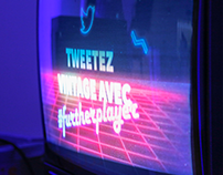 Further Player - Vintage Twitter Wall