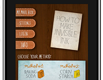 Learn how to make invisible ink App