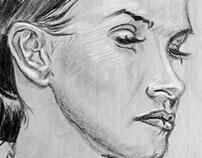 Portraits in Vine Charcoal