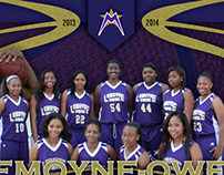 Lemoyne-Owen College Basketball Poster