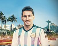 Lionel Messi - Brasil 2014