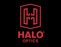 Halo Optics Logo Concepts