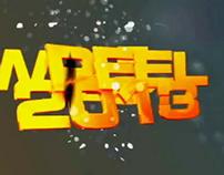 SHOWREEL 2013...