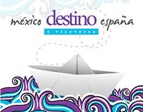 CD México destino España y viceversa.