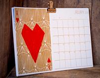 2014 Notecard Calendar