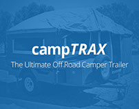 campTRAX | Logo mockup