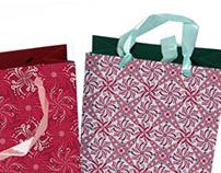 Floral pattern for paper bag