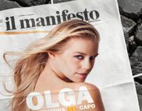 il Manifesto - subscription campaign