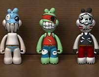 Tres muñecos locos/拼命三仔