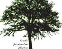 Urban Forest Banner Campaign _AIGA Detroit