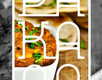 Brand Identity// Pakaao Indian street kitchen