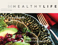 HealthyLife Magazine Redesign, Issue 1