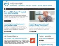 Dell Large Enterprise Email Newsletter