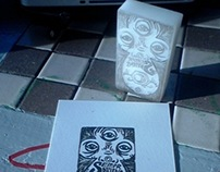 Lino Cut, Carvings, Etc.