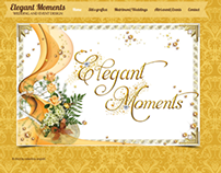 Elegant Moments-my wedding&events graphic project