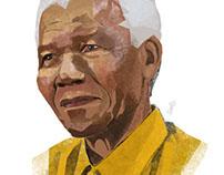 Nelson Mandel Portrait