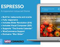 Espresso - A WordPress Theme for Restaurants