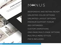Miinus - Retina Responsive Multi-Purpose Theme