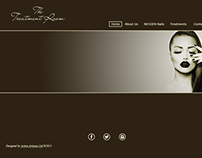The Treatment Room - Web Design