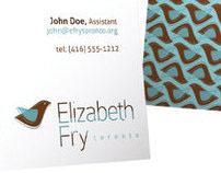 Elizabeth Fry Toronto - Logo Design Proposal