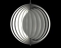 Moon Lamp 3D Model