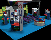 3D - Exhibit Booth Renderings - Exibit By Design