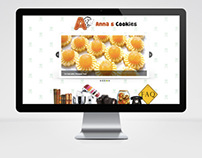 Anna's Cookies Web Design