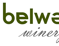Logo and stationery plan for Belward winery