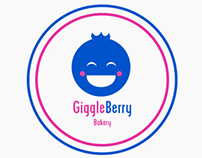 Giggle Berry Bakery Logo & Business Card